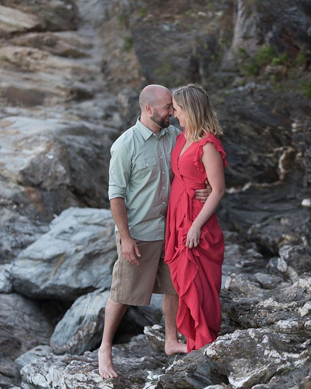 Climbing back to me after I sent the to the edge of the rocks. Perfect light. Perfect emotion. Not even the slightest bit of editing here. Just raw photo, raw beauty. #houseofluboldphotography #holp #beavertail #dreamwedding #photographygoals #sooc #rawphotography #ilovemyclients #rhodeisland @engagedrim @newportwedding