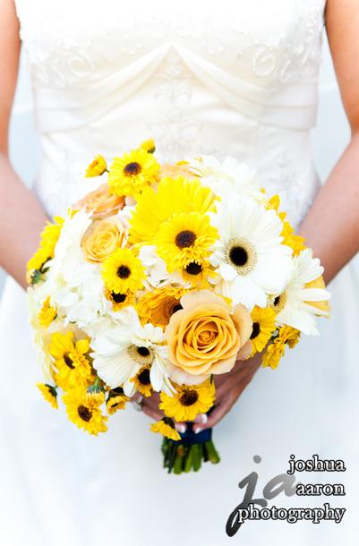 beautiful bride's bouquet of flowers