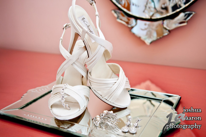 brides shoes and accessories