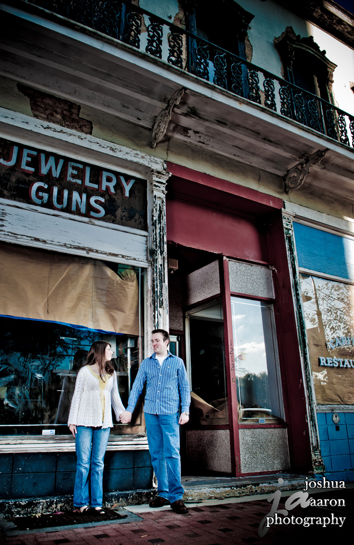 jewelry guns engagement downtown columbia engagement photo