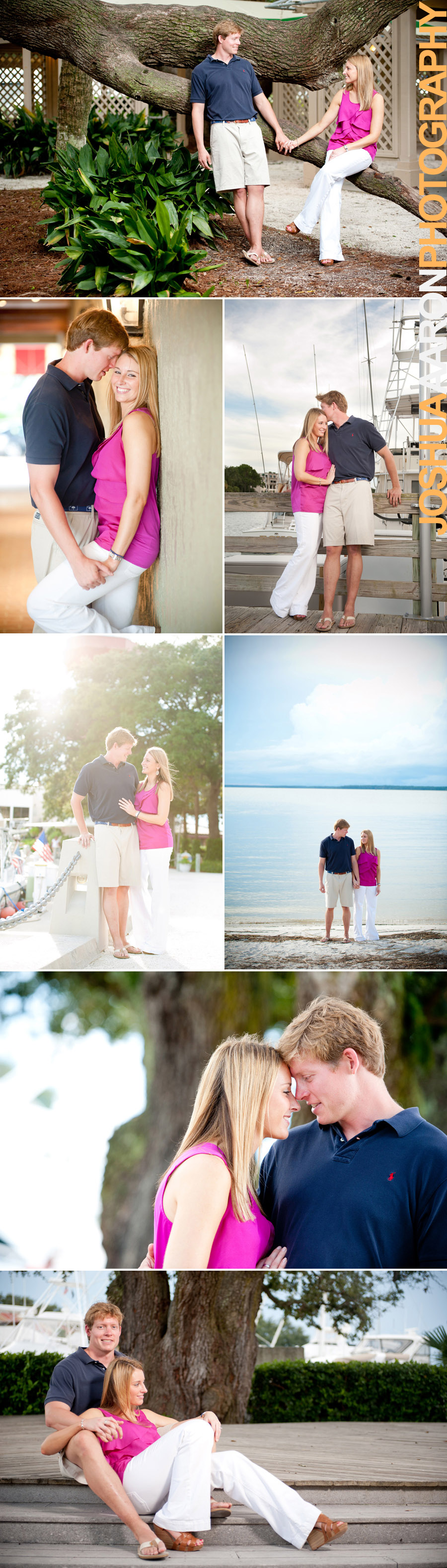 Engagement session in Harbor Town