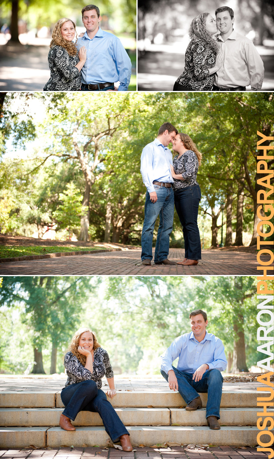 Engagement session at USC