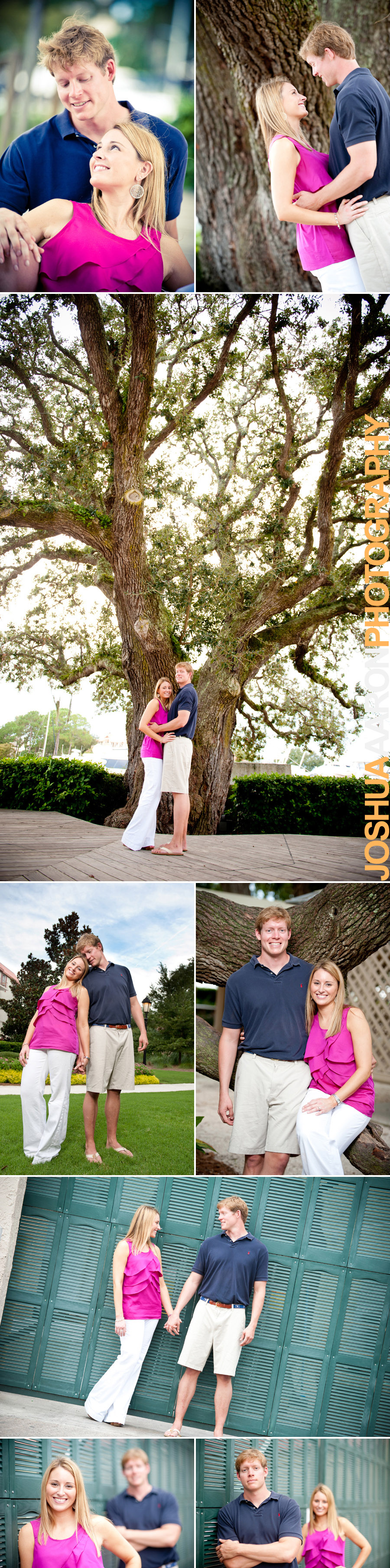Engagement session with Tiffany and Mitch in Hilton Head, SC