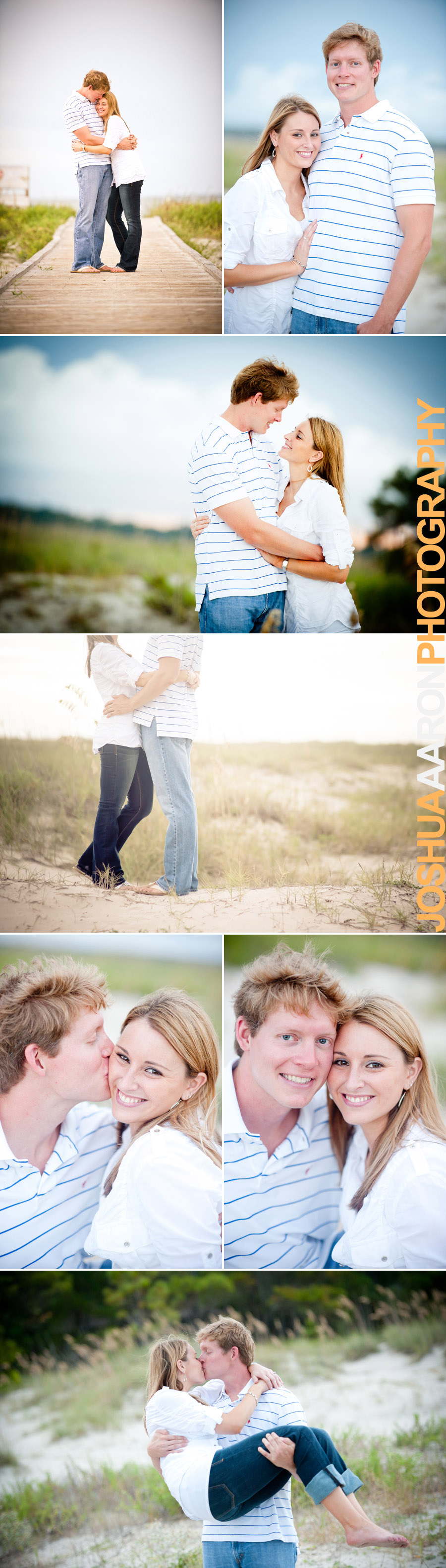 Engagement photo session on Hilton Head Island, SC