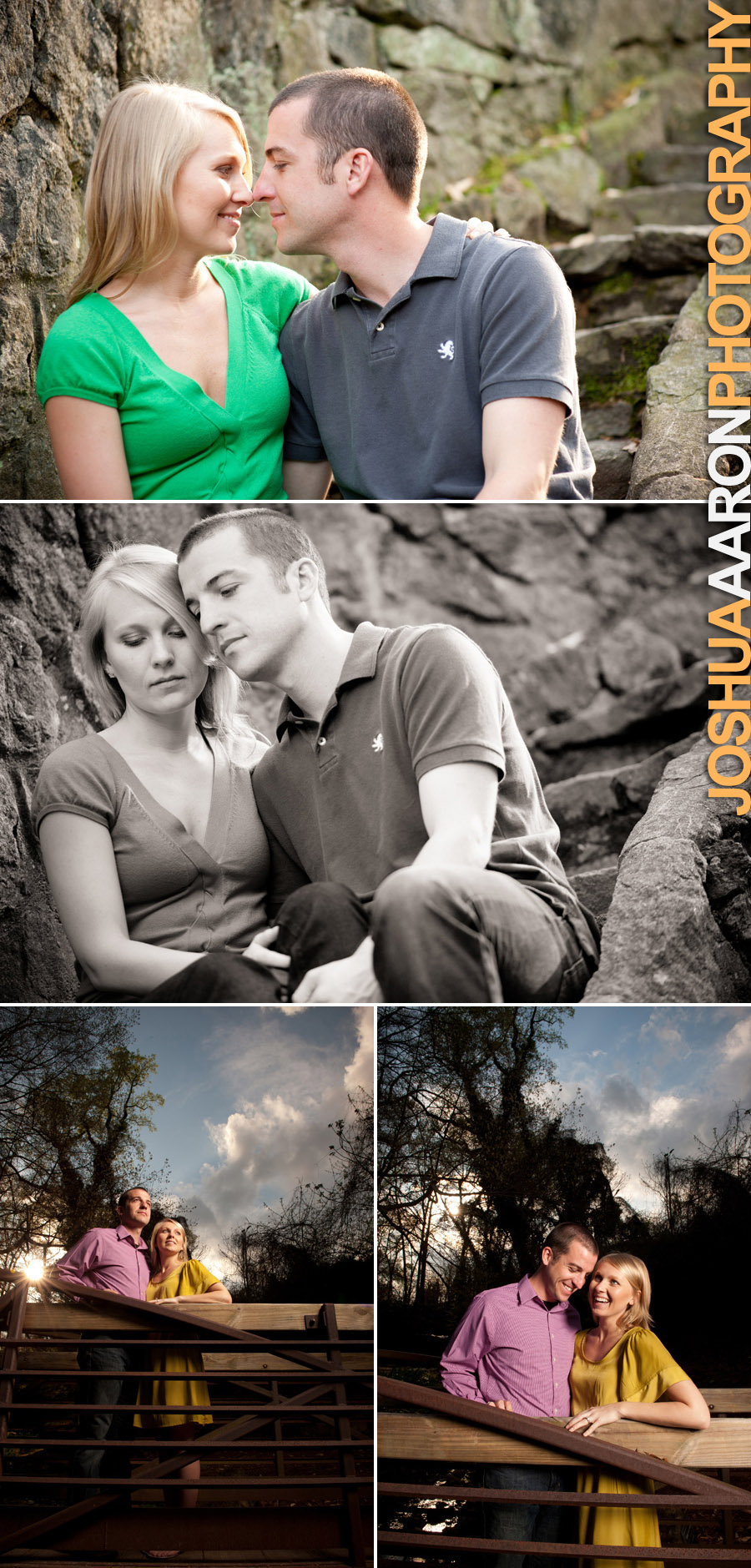 Sydney Phillip Engagement Session Greenville, SC
