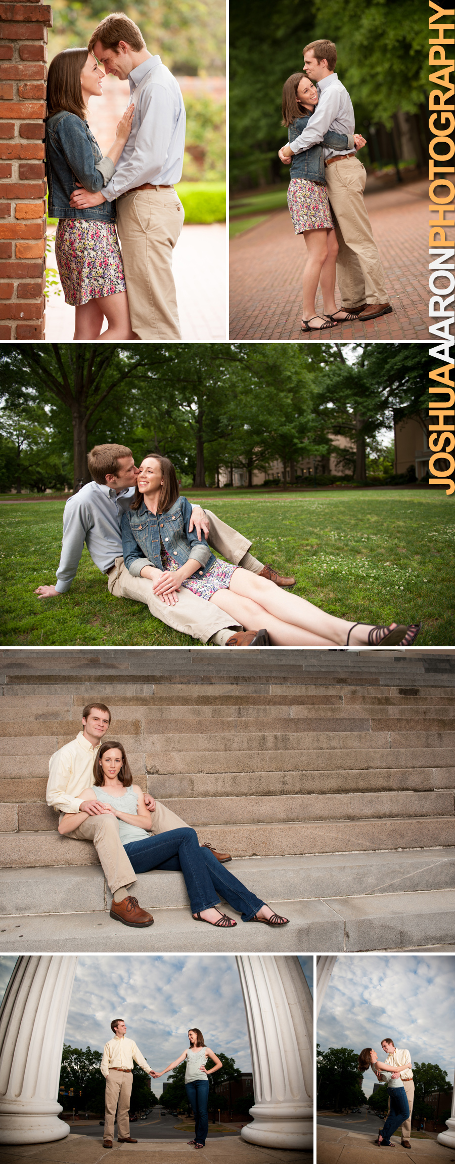 Alyssa and Chris engagements at USC