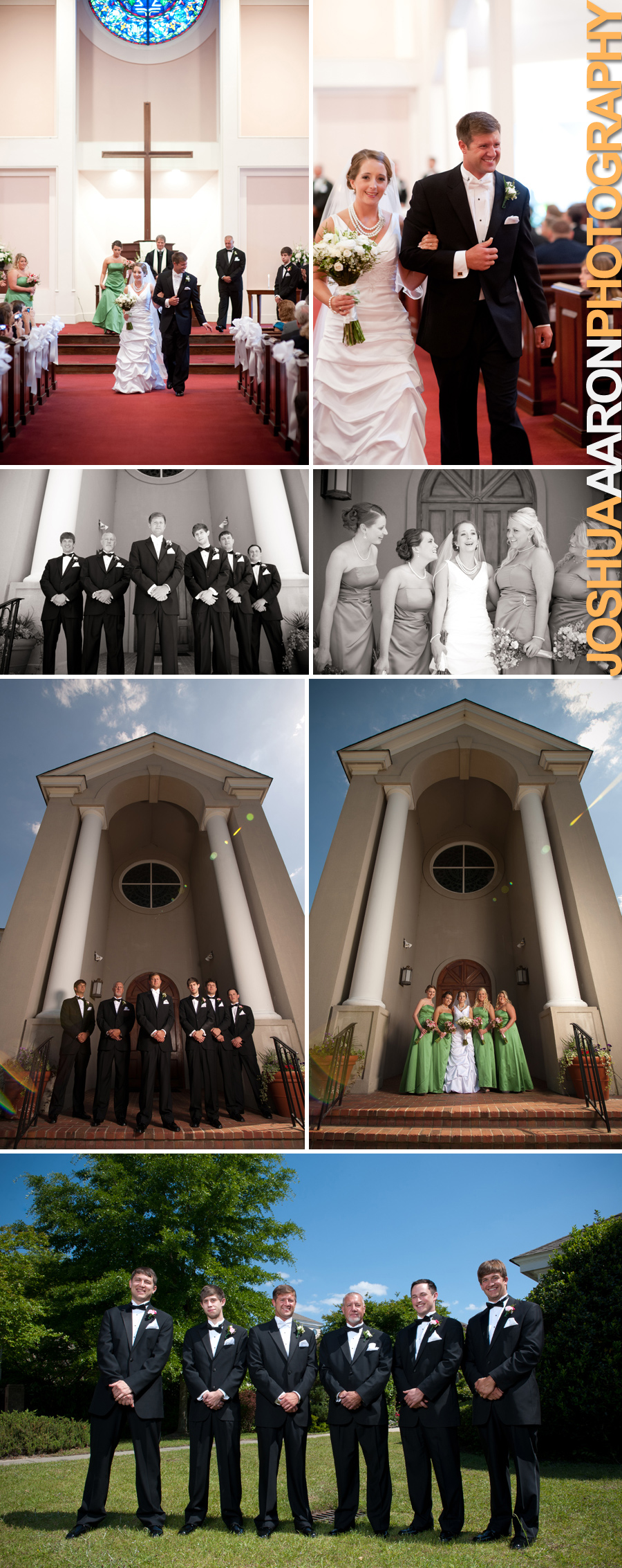 Jackie and Lance Wedding Spring Valley Presbyterian Chruch