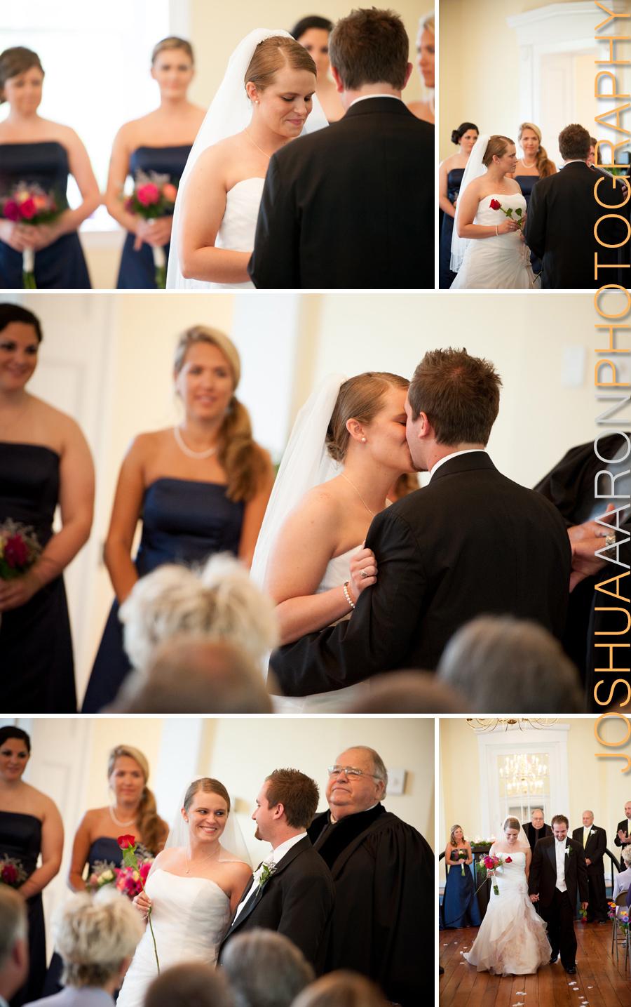 Robert Mills Courthouse wedding