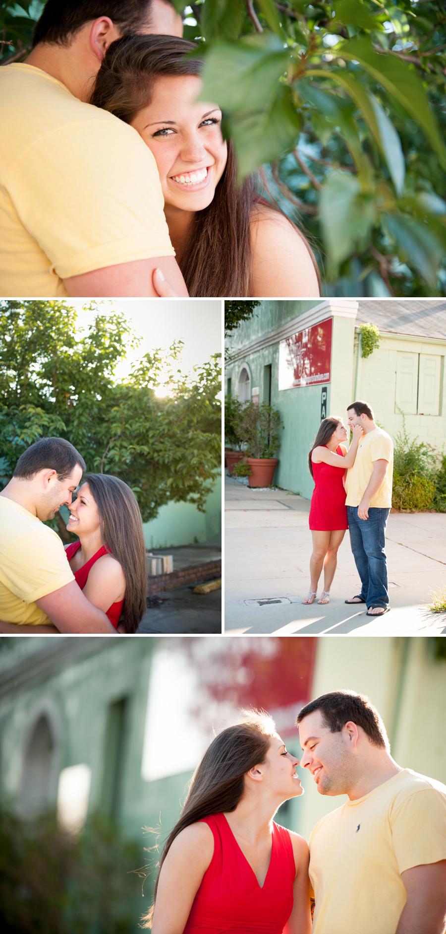 Lauren and Brandon engagements