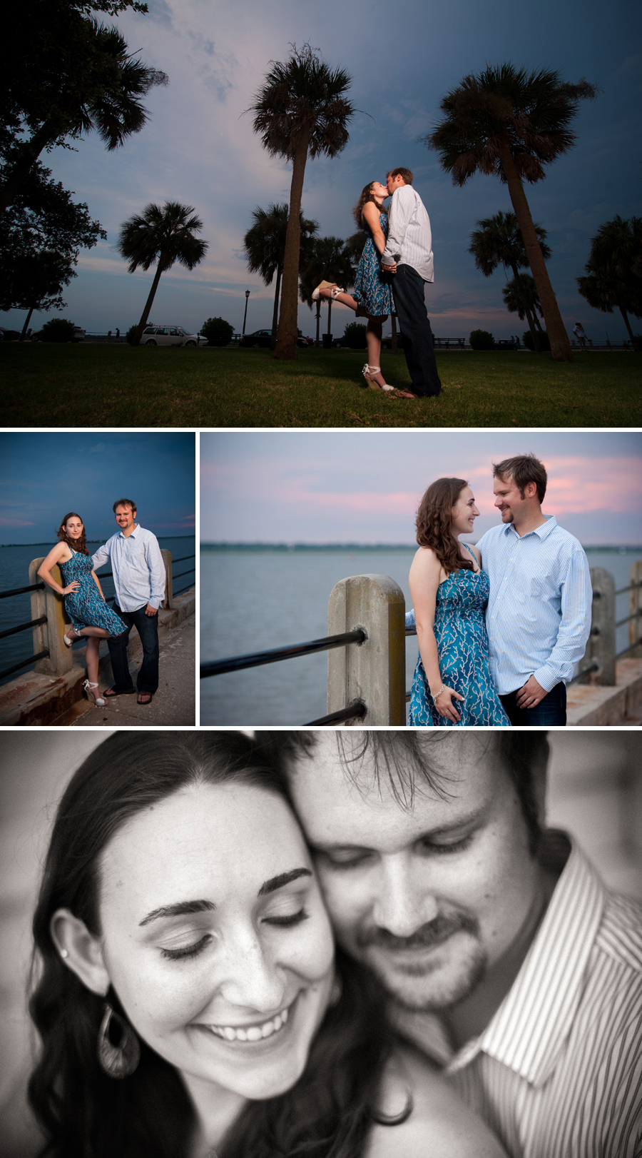 Lindsay and Chuck engagements Charleston SC