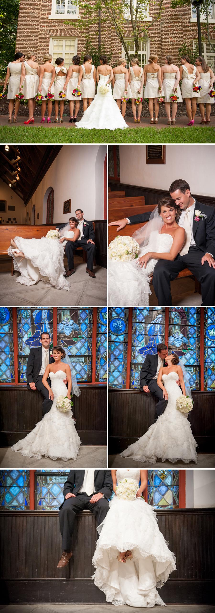 Monica and Adam Wedding at St. Luke's Chapel