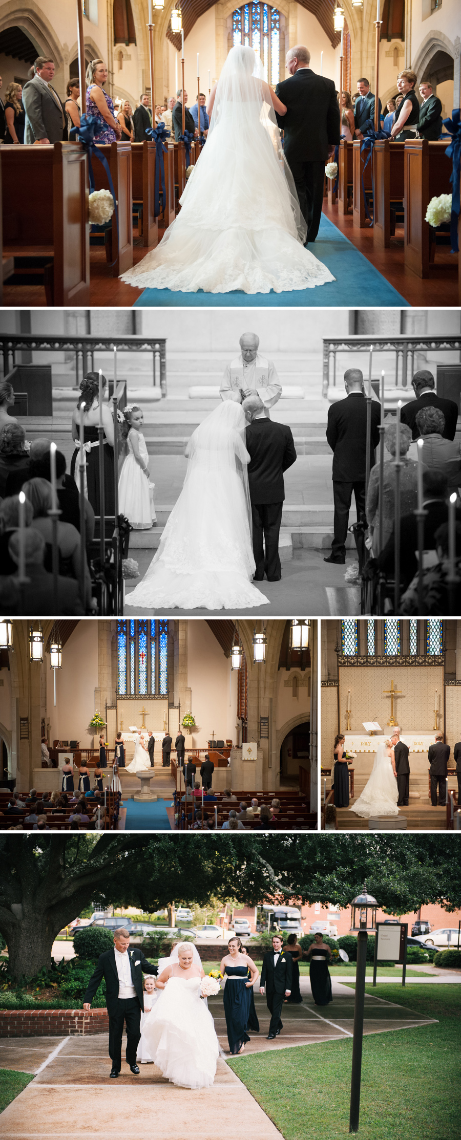 Bess and Tyler wedding at Ebeneezer Lutheran in Columbia Sc