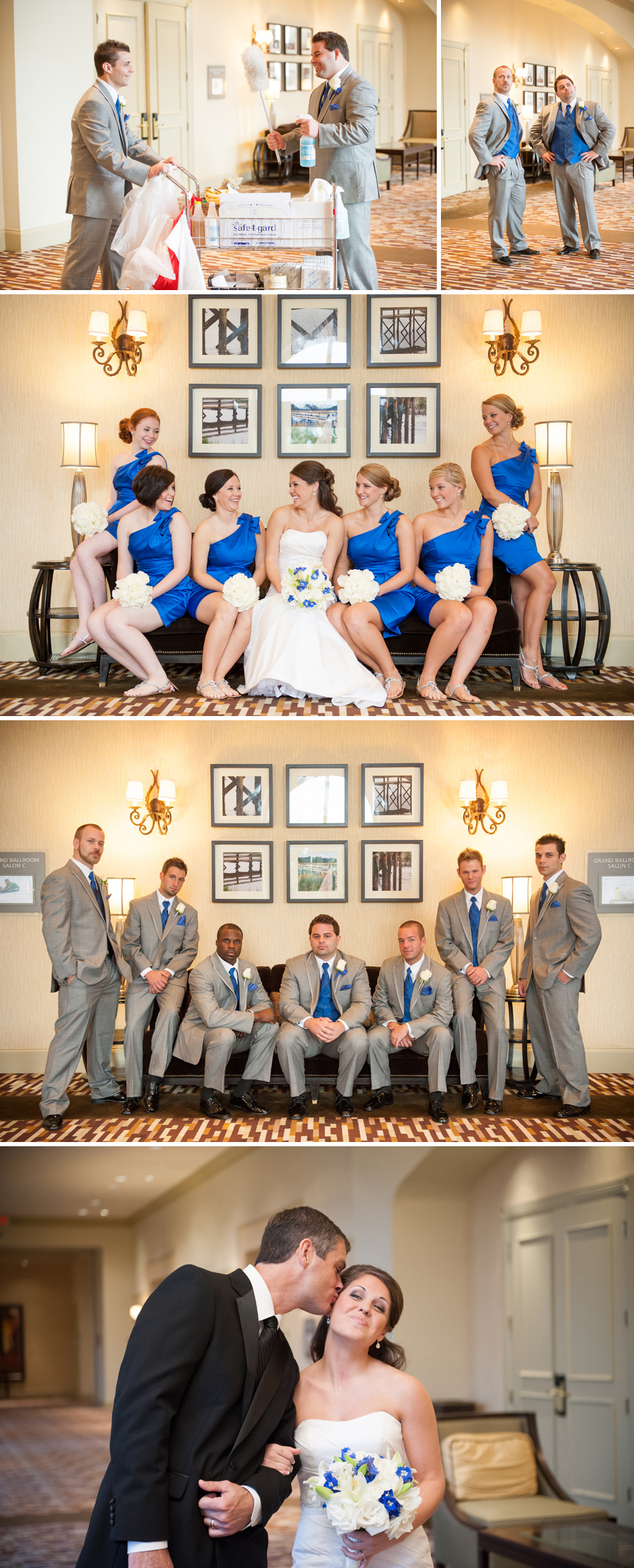 Lauren and Brandon wedding at the Westin Savannah, GA