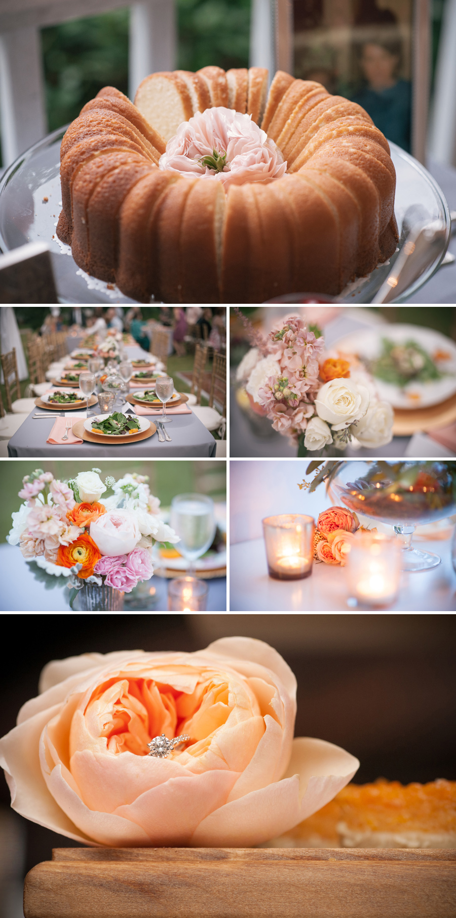 Romantic rustic wedding reception n Boykin, SC