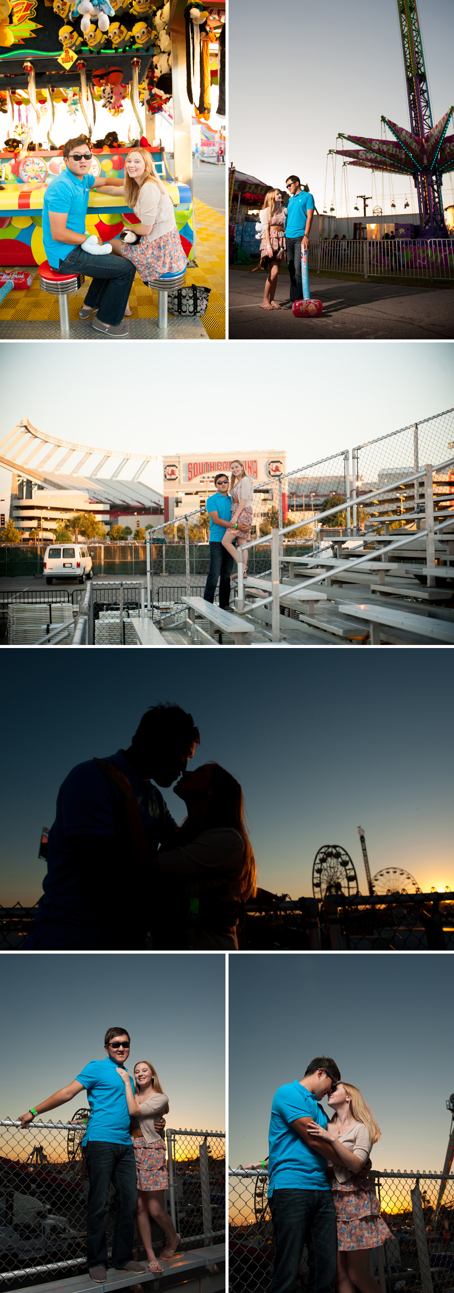 Elena and Young engagements at the SC State Fair 2012