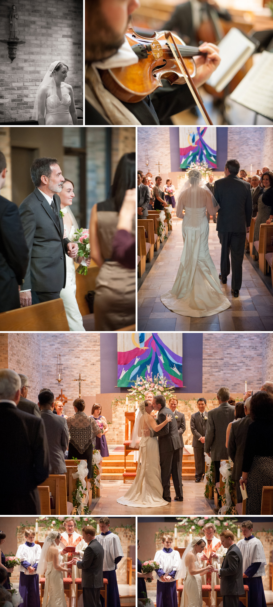 Jessica and Brian wedding at Our Lady of the Hills Catholic Church Columbia, SC