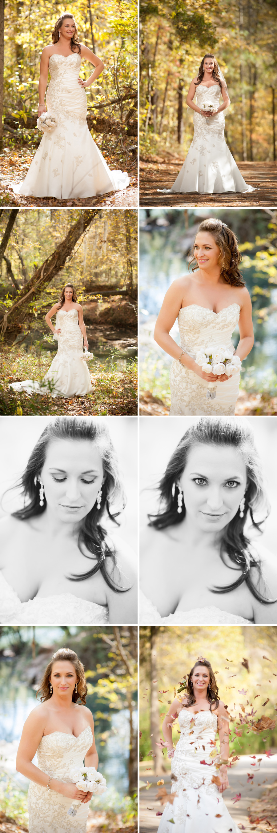 Ashley bridal portrait Columbia, SC
