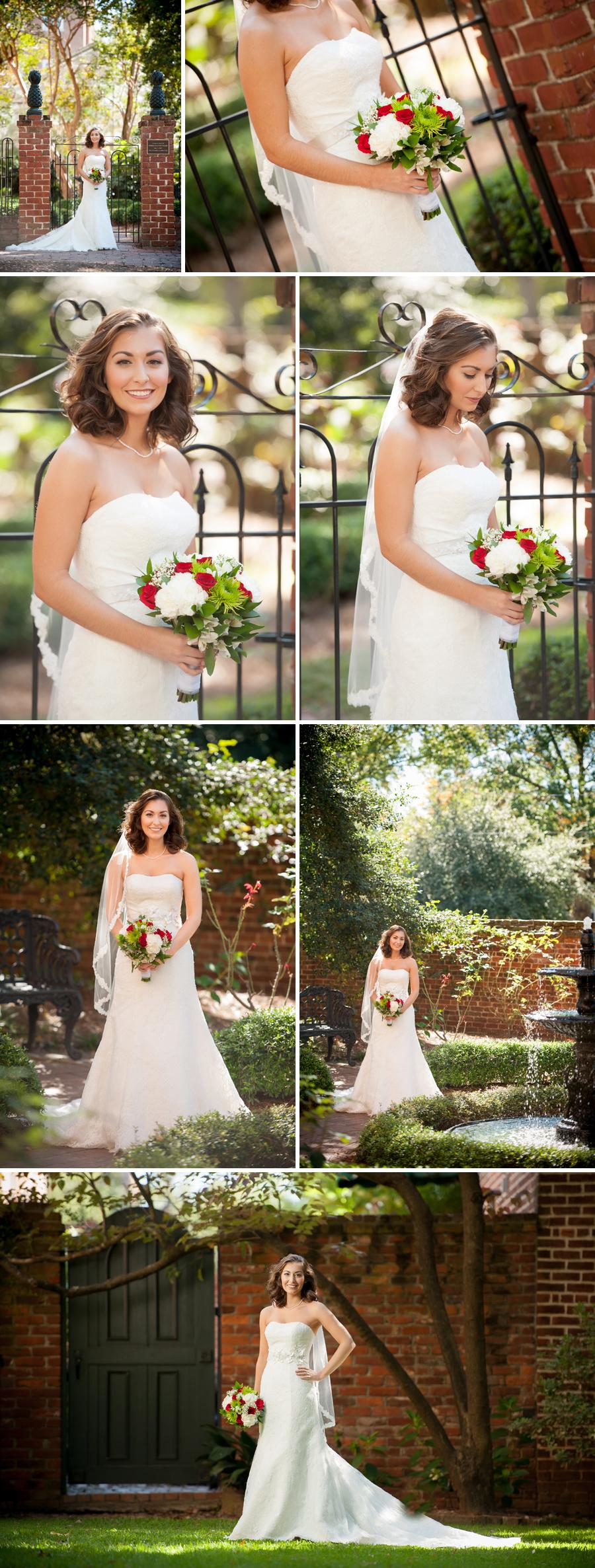 Amanda rocks her dress columbia sc wedding for Wedding dresses in columbia sc