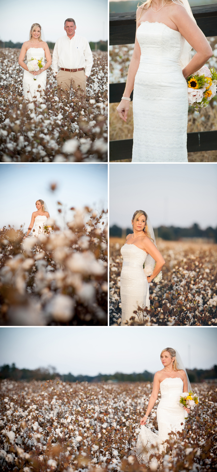 Angie and Jim bridals in St. Matthew, SC