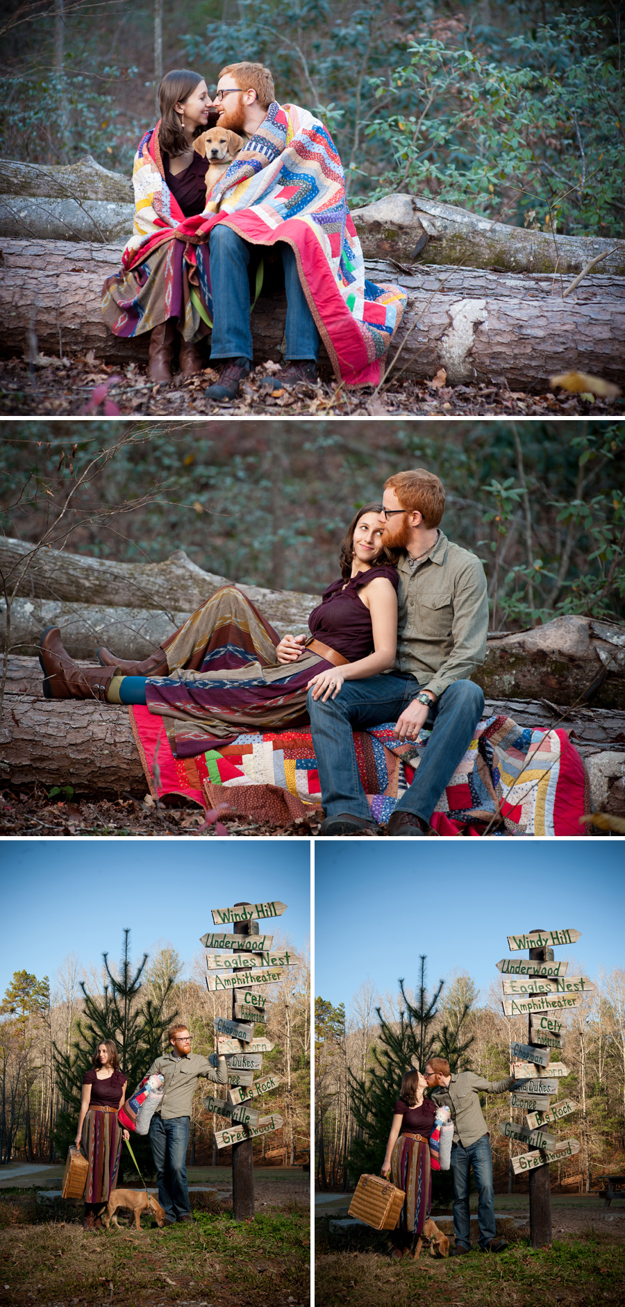 Nick and Grace engagement session greenville sc