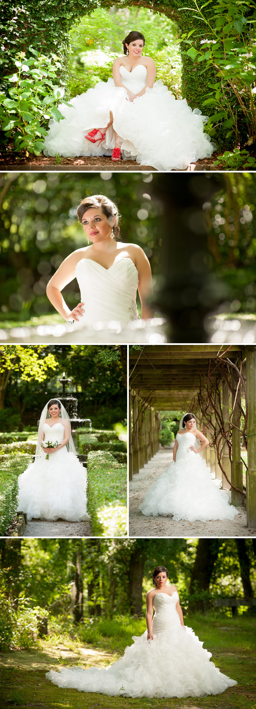 Karolyn rocks her dress bridal portraits at the lace for Wedding dresses in columbia sc