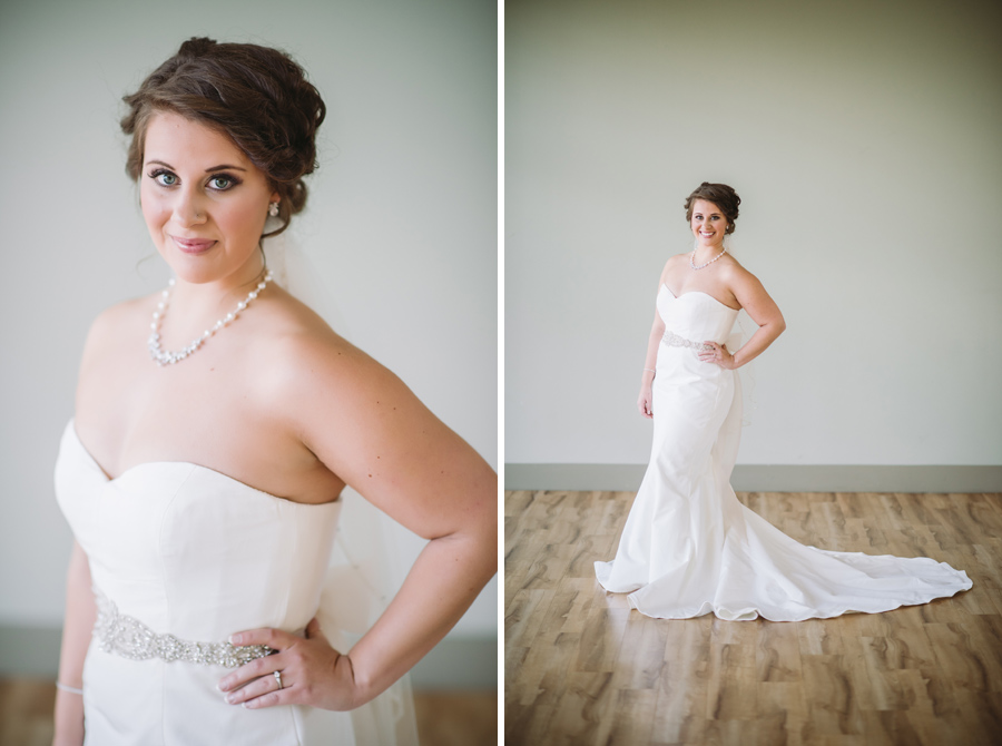 classic glamour bride