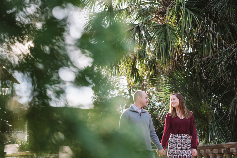 riverbanks gardens engagement