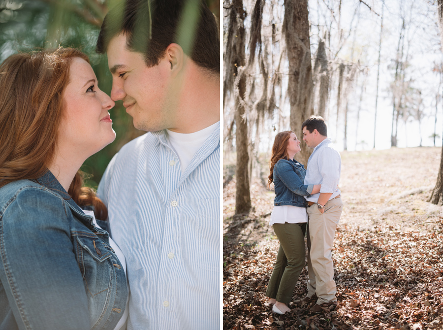 spanish moss engagement