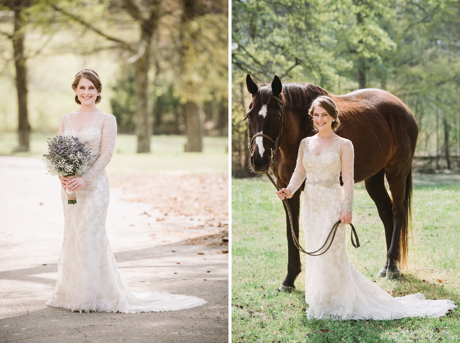 bridal with horse