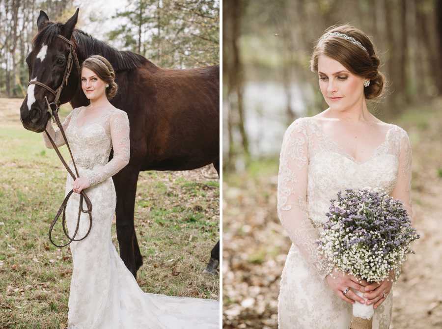 horse farm bridal
