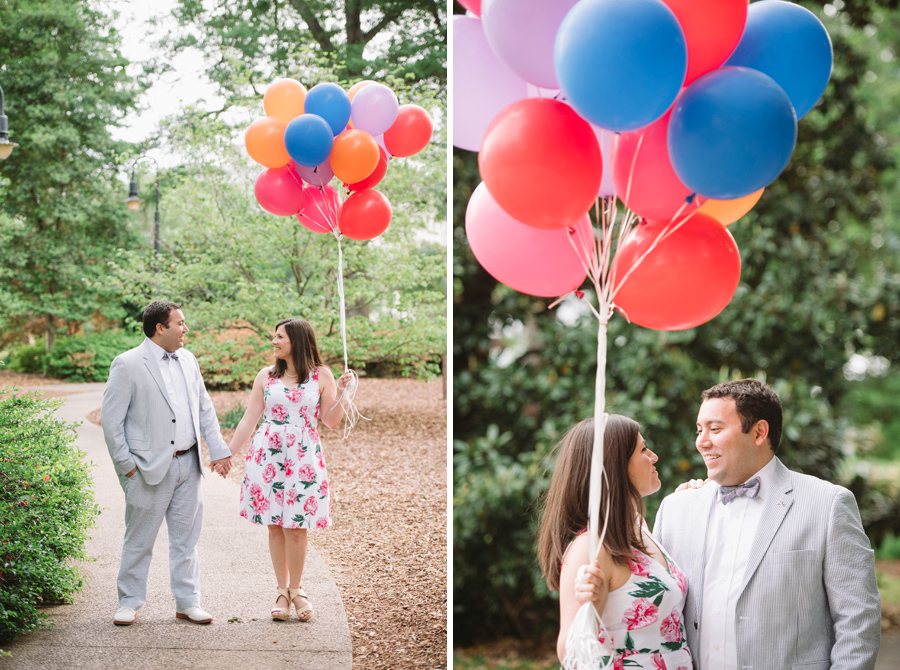 balloons engagement