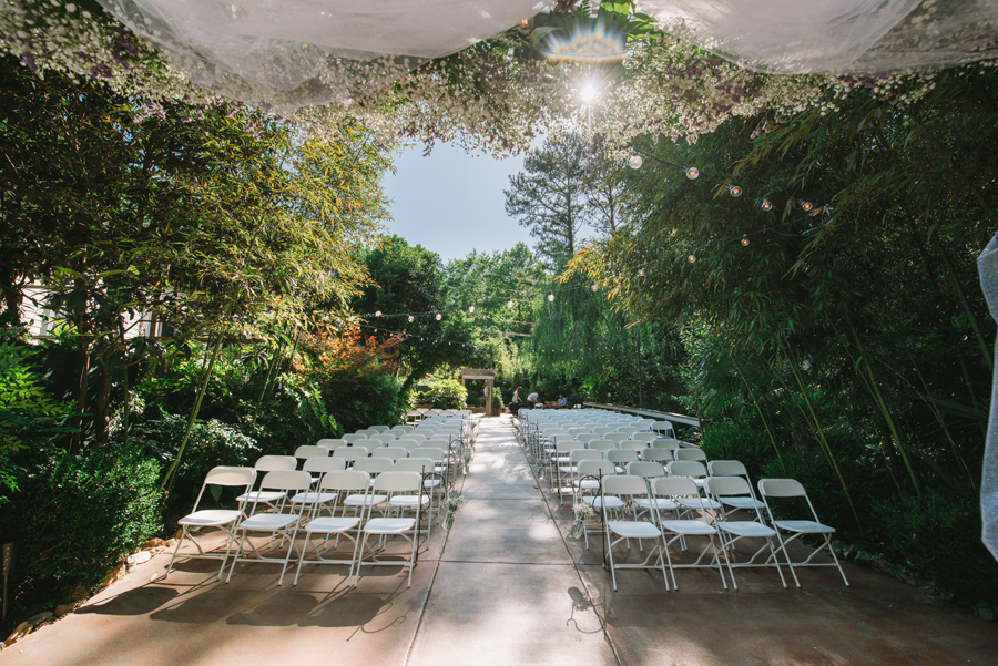 wedding ceremony view
