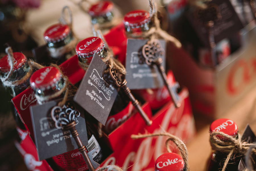 coke bottle favors