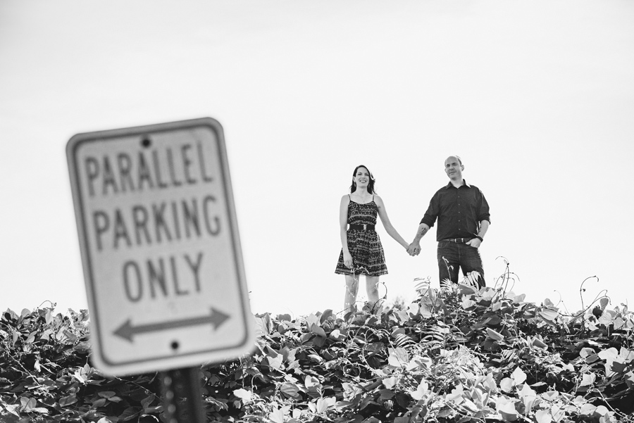 parallel parking only engagement session