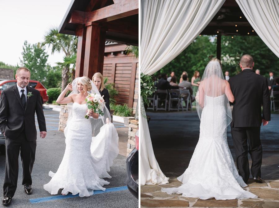 wedding ceremony stone river