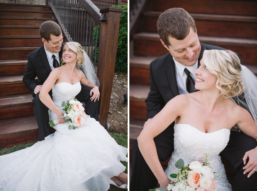 beautiful couple stone river wedding