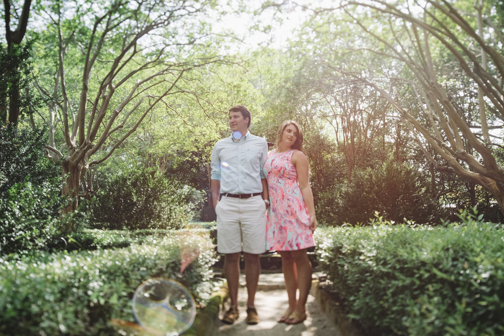 lens flare engagement photo