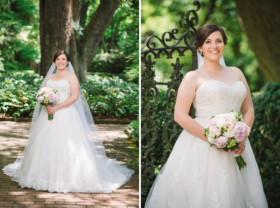 ashley bridal portrait