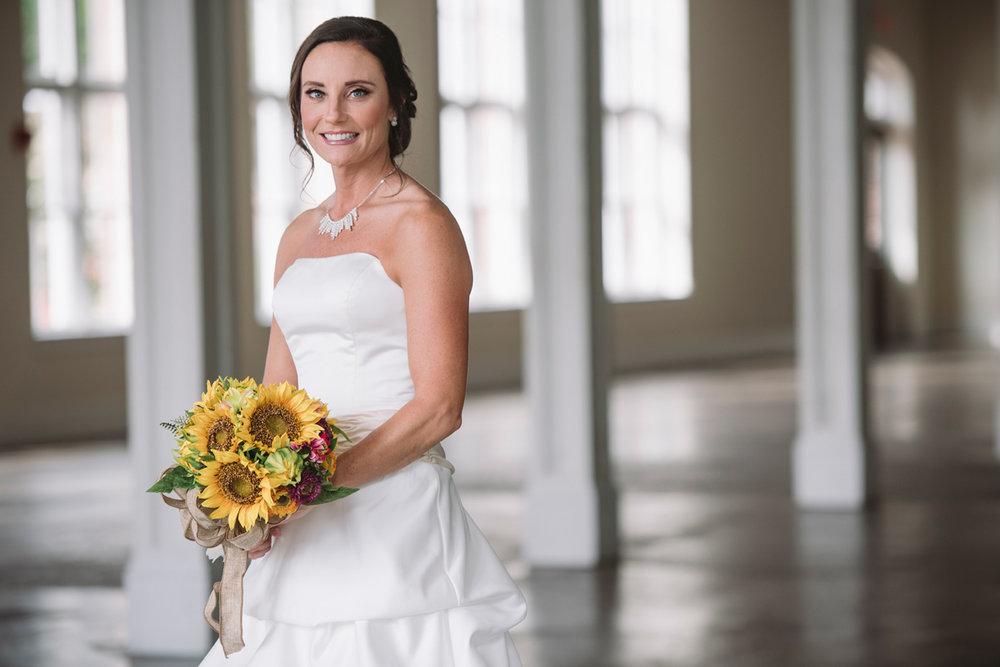 gina bridal portrait