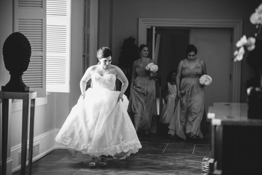 candid moment bride