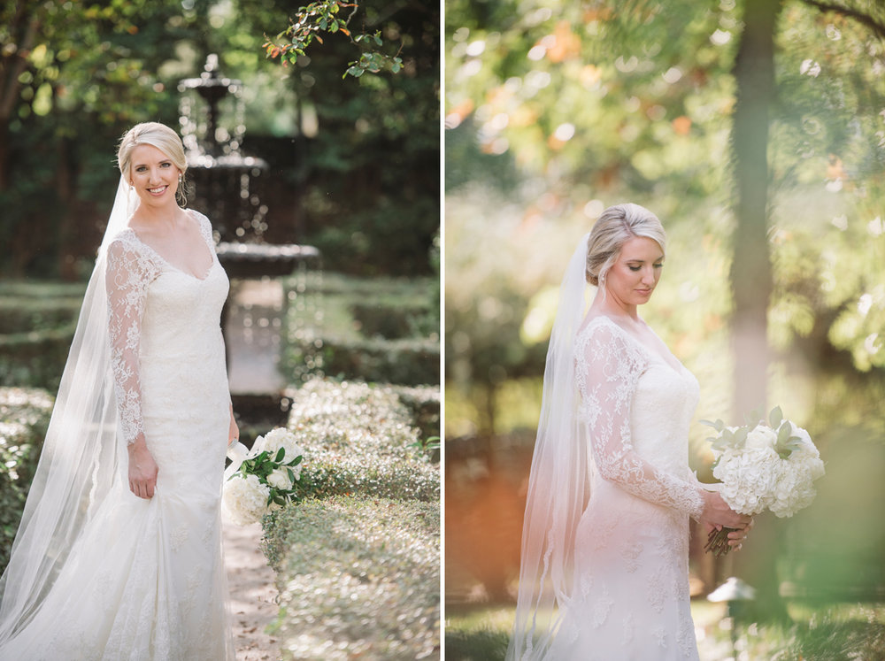 stunning bridal portrait sc lace house