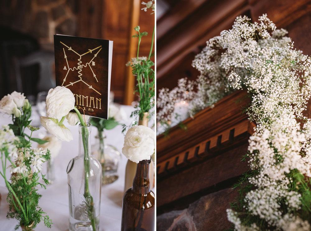wedding details Wilcox hotel