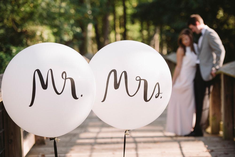 kate spade balloons engagement