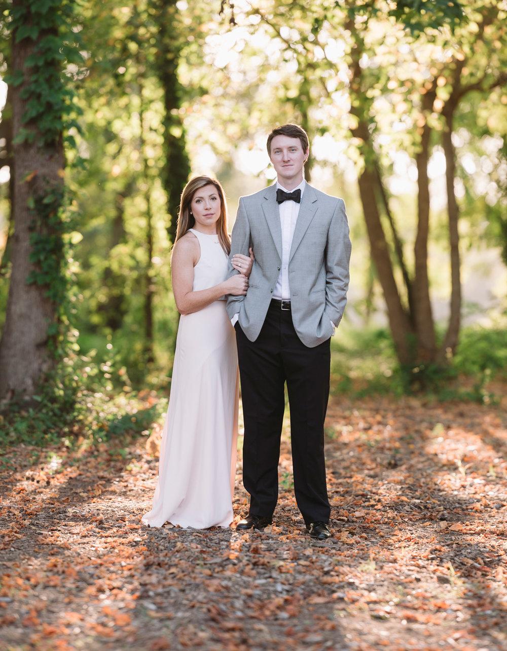 brenizer engagement photo