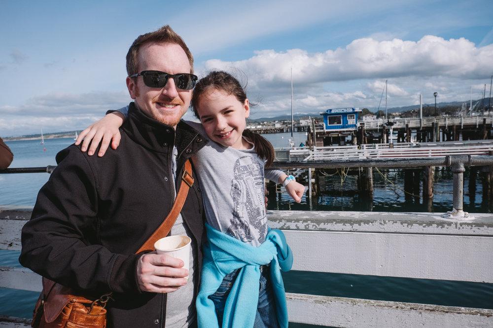 Josh and Caroline at Fisherman's Wharf