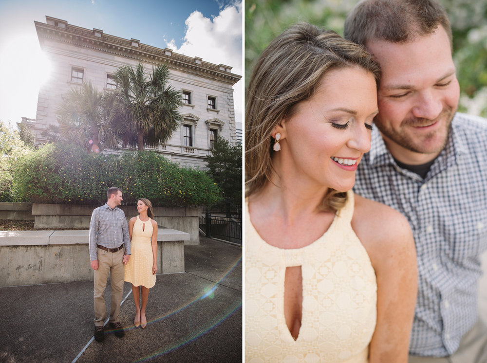 state house engagement session
