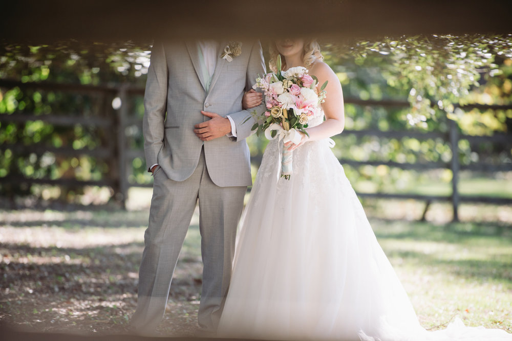 wedding portraits wavering place