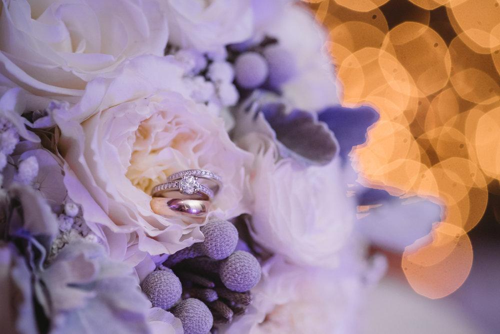 american floral bridal bouquet