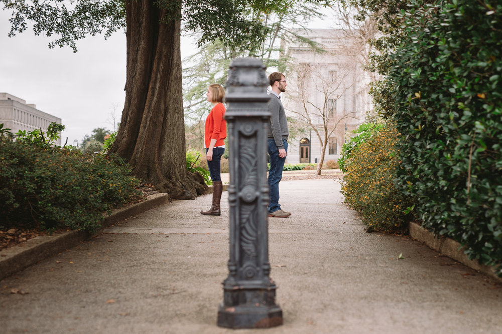 south carolina state house engagement session