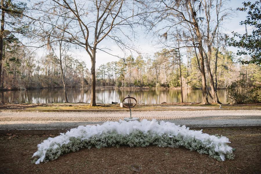 wedding ceremony adams pond